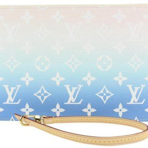 Louis Vuitton Blue Monogram By the Pool Neverfull